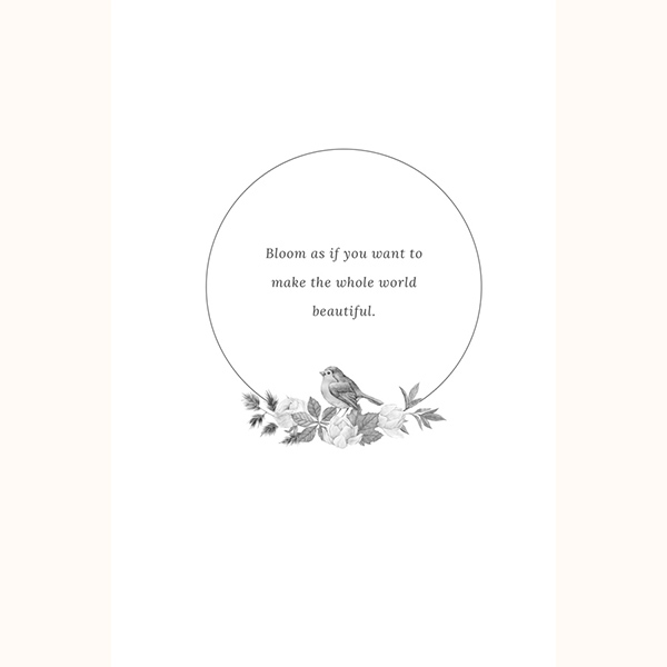 Bloom Your Own Way Quote