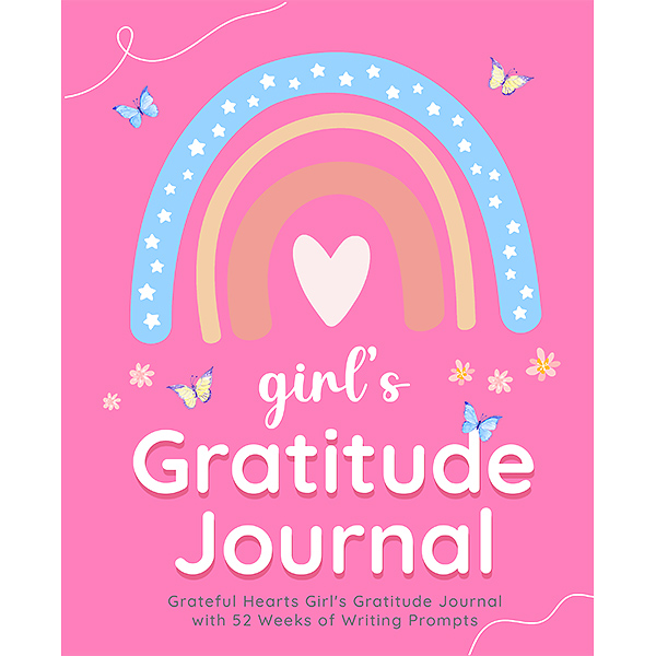 Grateful Hearts Girl's Gratitude Journal Cover Page
